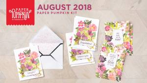 August 2018 Paper Pumpkin Kit by Stampin' Up!