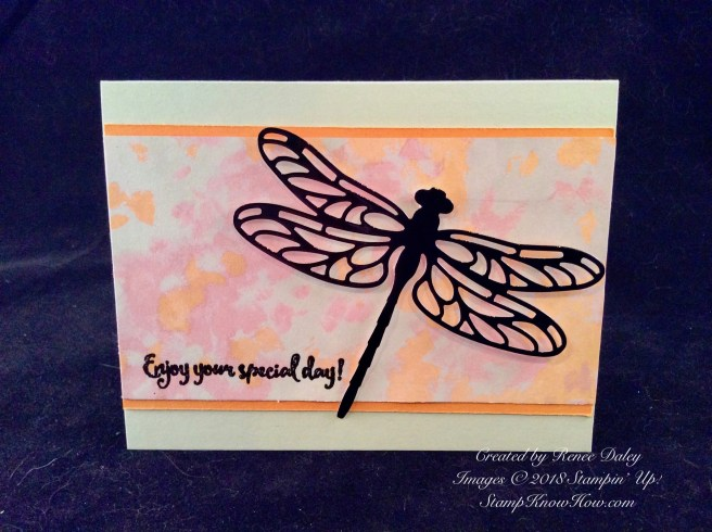 Dragonfly Dreams Birthday Card
