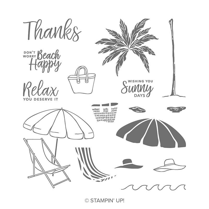 Beach Happy Stamp Set by Stampin' Up!