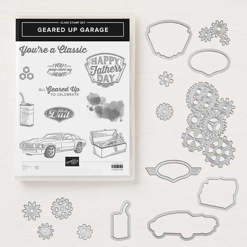 Geared up Garage bundle by Stampin' Up!