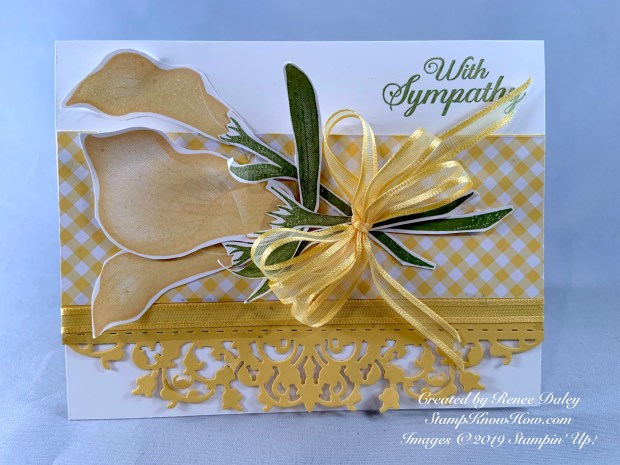 Lasting Lily Sale-a-bration Sympathy card