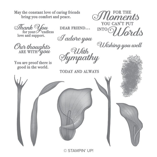 Lasting Lily Sale-a-bration Stamp set by Stampin' UP