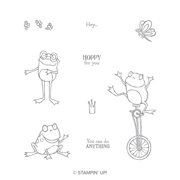 So Hoppy Stamp Set by Stampin' Up!