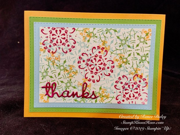All Adorned Thank You Card
