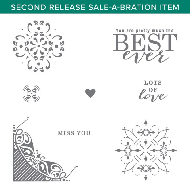 All Adorned Stamp Set by Stampin' Up