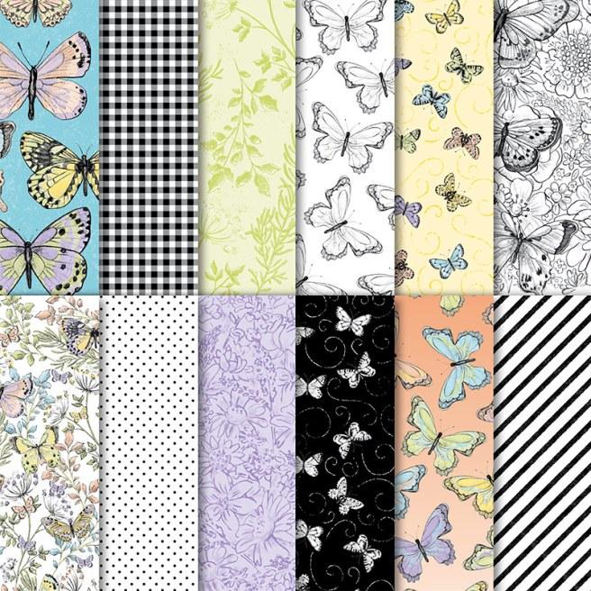 Botanical Butterflies DSP