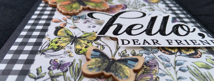 Life is Grand Stamp Set featuring Sale-a-Bration Butterflies
