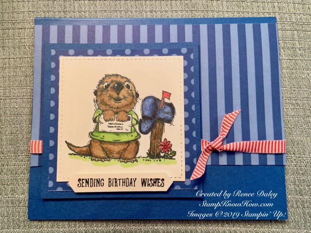 Postcard Pals Birthday Card