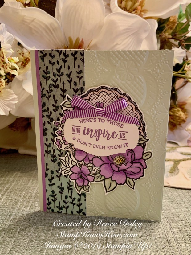 Lovely Lattice Card