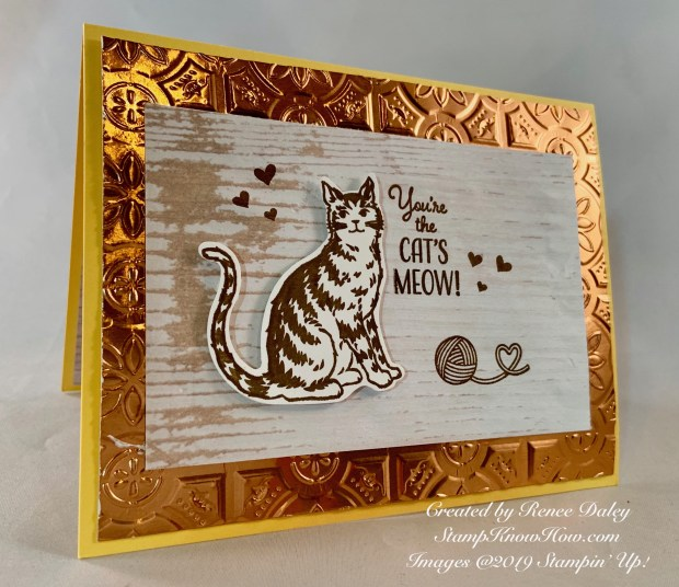 Nine Lives Birthday Card
