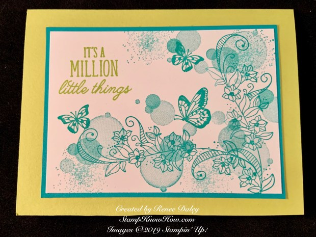 Beauty Abounds Collage Card