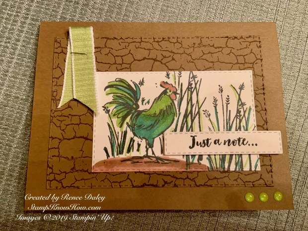 Home to Roost Note Card