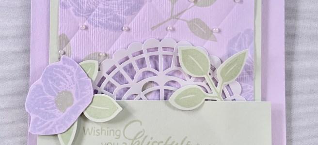 Floral Essence Wedding Day Card