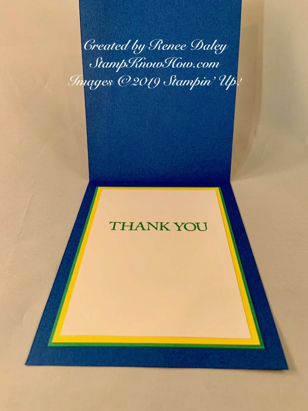 Believe You Can Die Cut Thank You Card