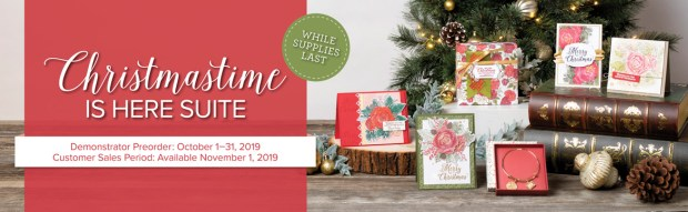 Christmas Time is Here Suite by Stampin' Up