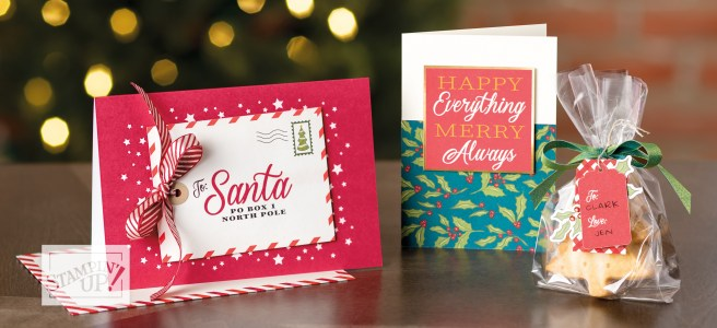 Stampin' Up Night Before Christmas memories and more samples
