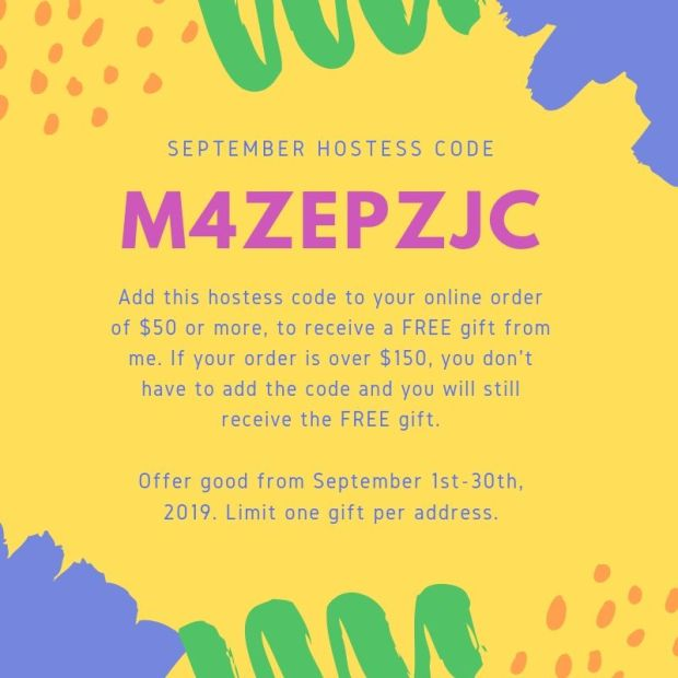 September 2019 Hostess Code to purchase Stampin' Up products at StampKnowHow.com