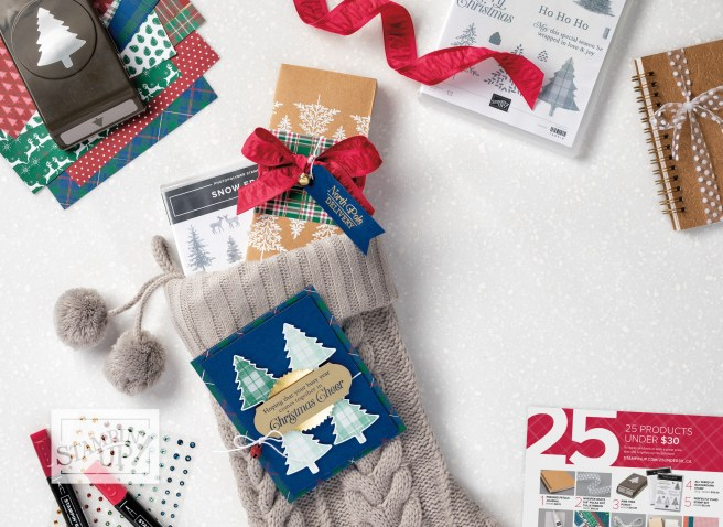 Back Cover of 2019 Holiday Catalog from Stampin' Up