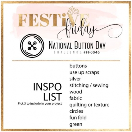 Festive Friday Challenge #0046 - National Button Day
