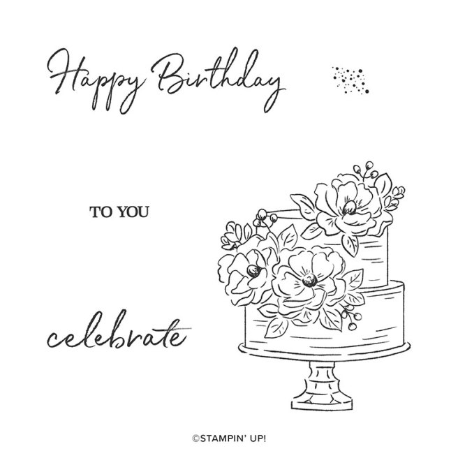 Happy Birthday to You Sale-a-bration stamp set