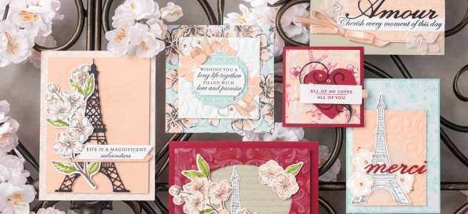 Parisian Suite from Stampin' Up