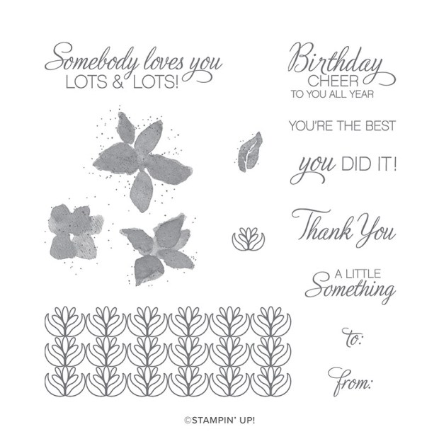 Parcels and Petals Stamp Set by Stampin' Up