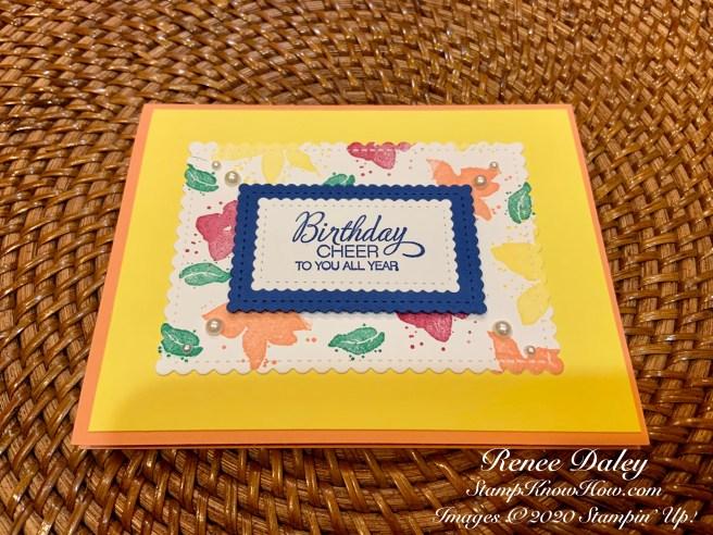 Parcels & Petals Birthday Card