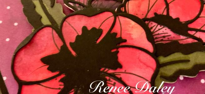Poppy Moments Birthday Card