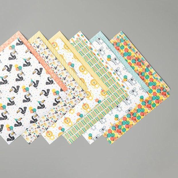 Birthday Bonanza Designer Series Paper by Stampin' Up
