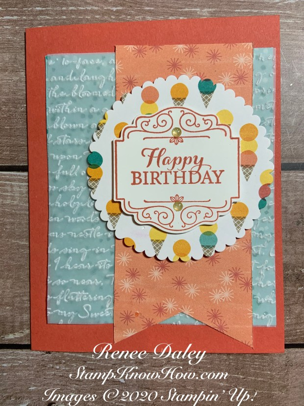 Image of Layered with Kindness Birthday Card