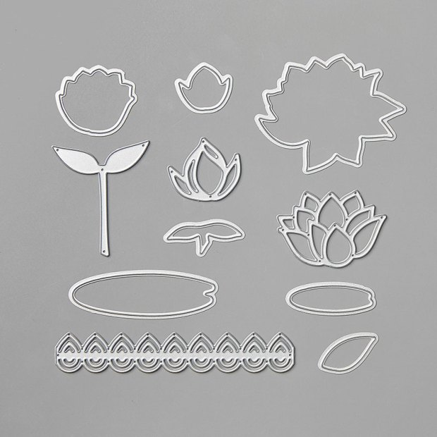 Lily Pad Dies by Stampin' Up!