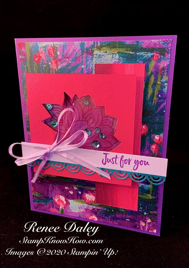 Image of Lovely Lily Shaker Card