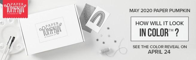 May 2020 Paper Pumpkin Kit Header Image