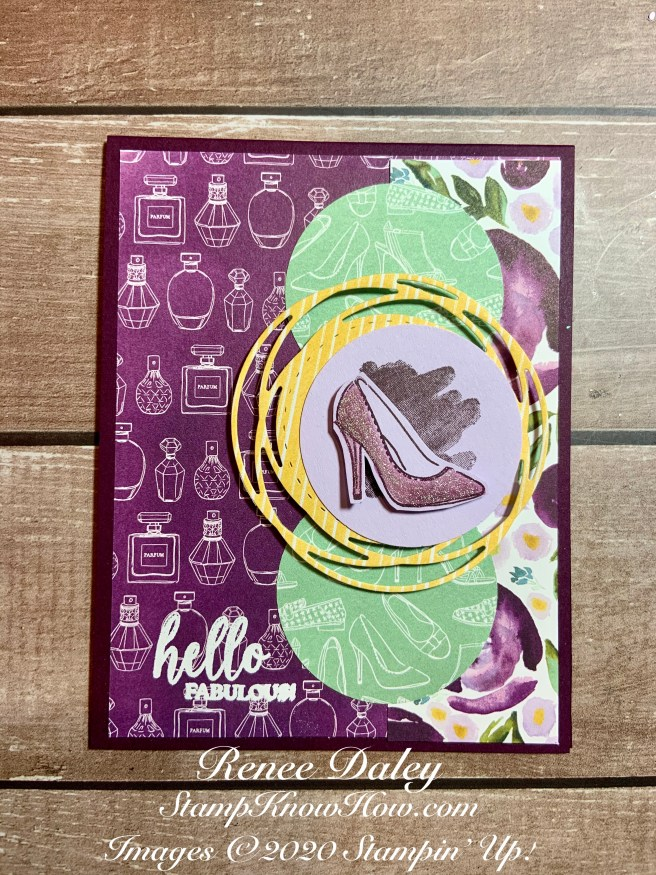Image of Best Dressed Hello Card