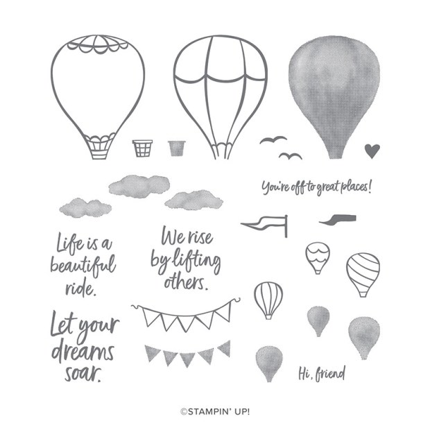 Stampin Up Above the Clouds Stamp Set