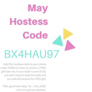 StampKnowHow May 2020 Hostess Code