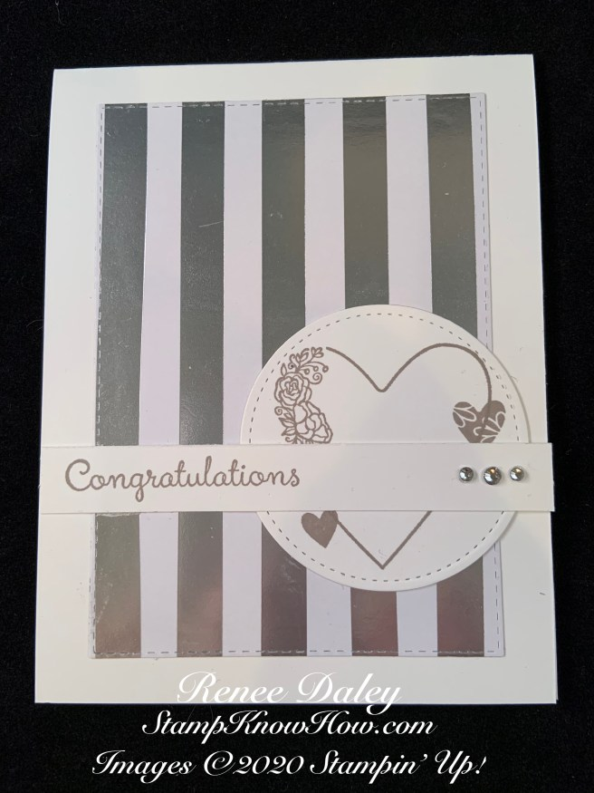 Meant to Be Wedding Card Image