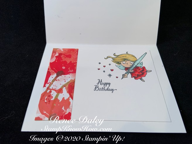 Inside view of the New Wonder Birthday Card