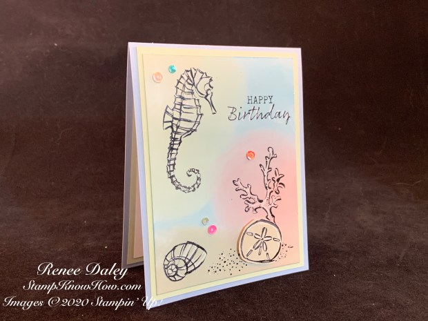 Seaside Notions Birthday Card image