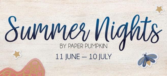 Paper Pumpkin Summer Nights Header Image