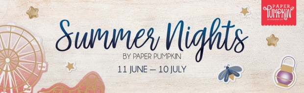 Paper Pumpkin Summer Nights Header Image