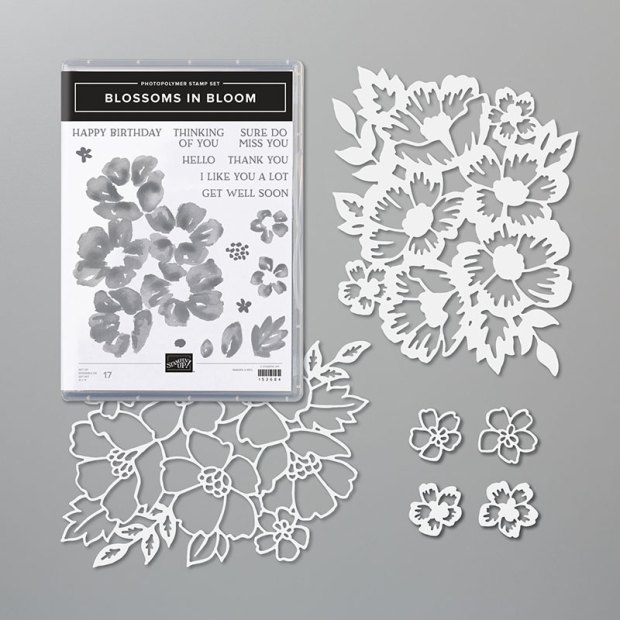 Blossoms in Bloom Bundle from Stampin UP
