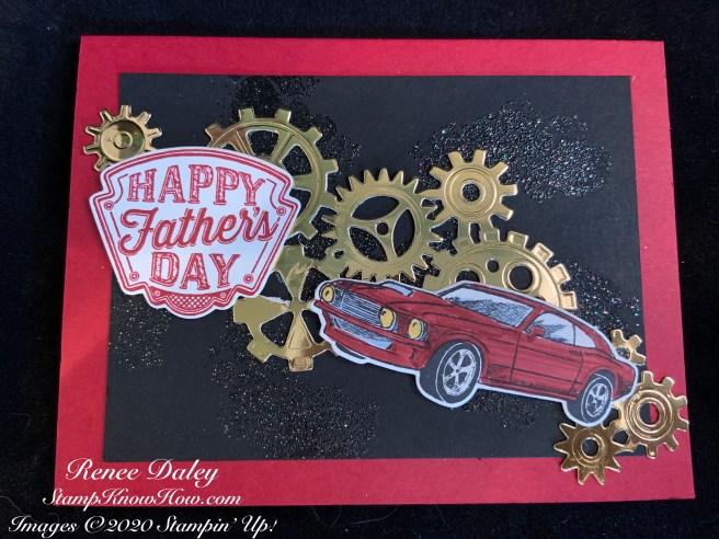 Geared Up Garage Card