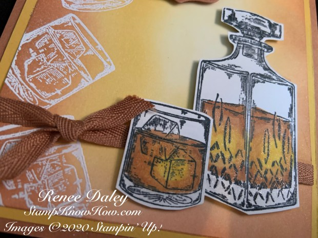 Father's Day Card using Whiskey Business Stamp Set by Stampin' Up