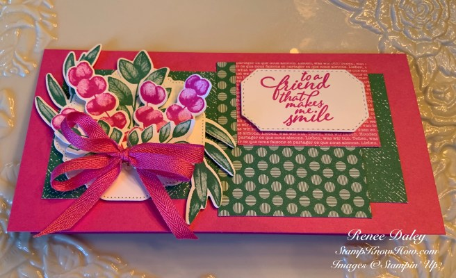 Forever Fern Birthday Card Sample