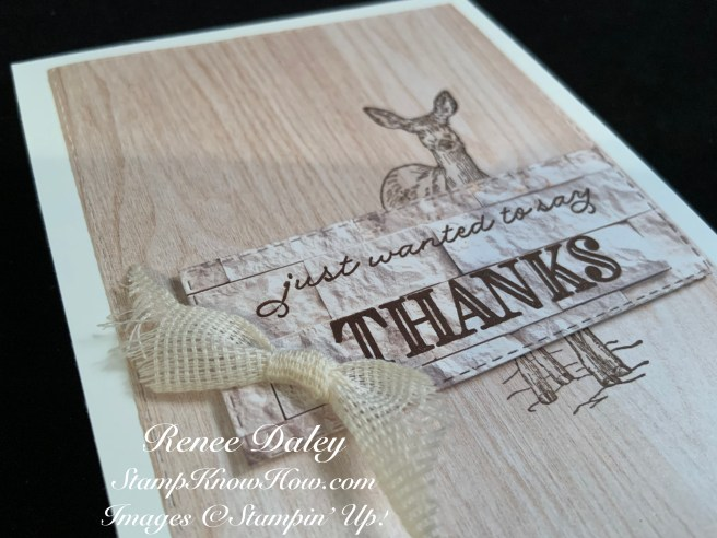 Nature's Beauty Thank You Card