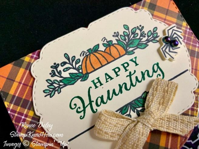 The Celebration Tidings Halloween Treat Bag