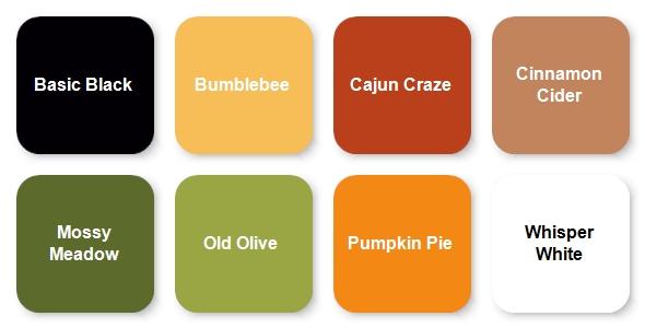 Stampin Up September 2020 Paper Pumpkin Kit Colors