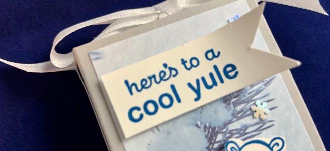 Warm & Toasty Hand Sanitizer Gift Box close up image