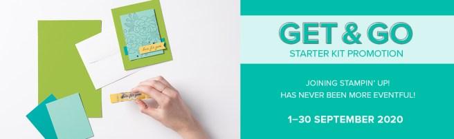 Stampin Up Get & Go Starter Kit Promotion